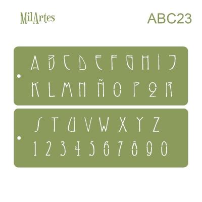 Stencil Abc 23 (2.5cm)