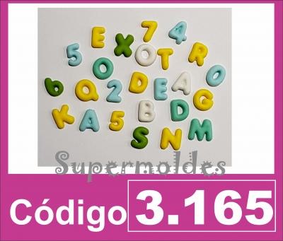Abc Y Num Mini 1,2 Cm Alto