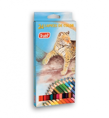 Lapices Trabi Largo Pinturitas X 24