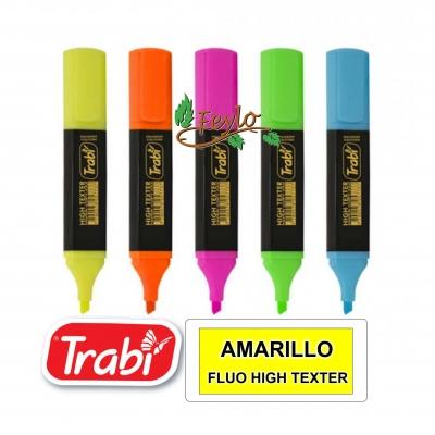 Resaltador  Trabi High Texter Fluo Amarillo