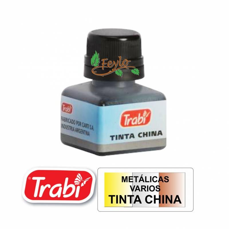 Tinta China Trabi Metalicas X 15cc