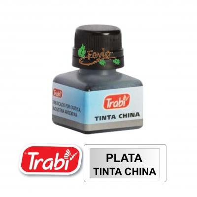 Tinta China Trabi X 15cc Plata