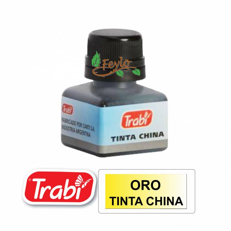 Tinta China Trabi X 15cc Oro