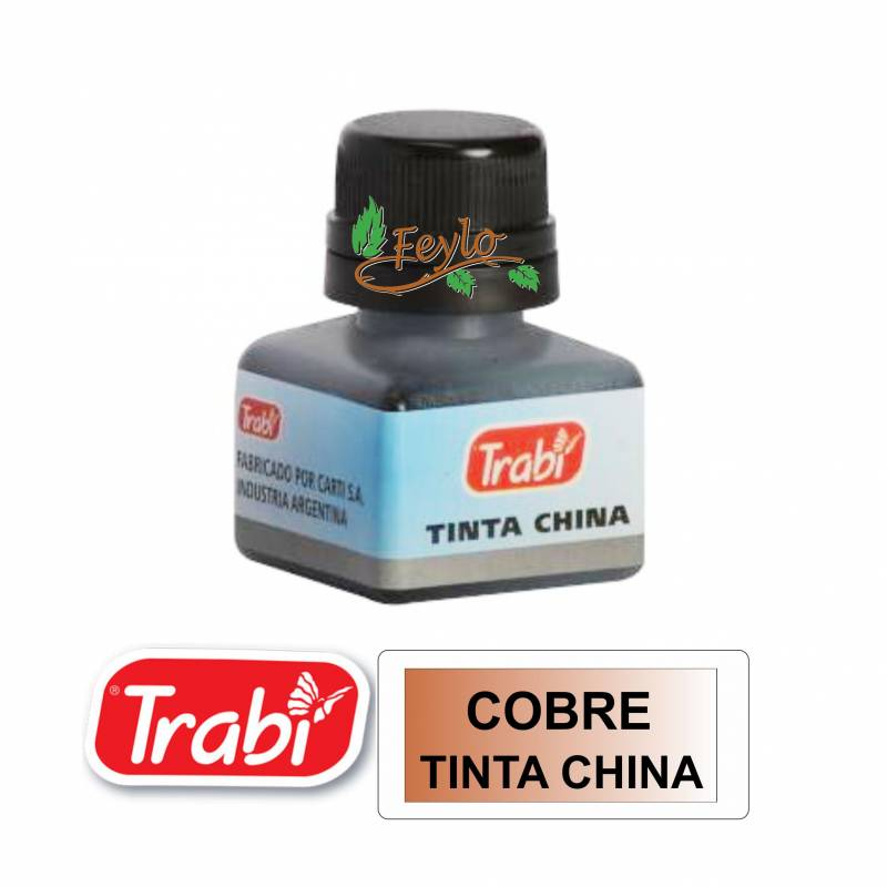 Tinta China Trabi X 15cc Cobre