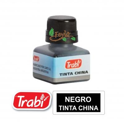 Tinta China Trabi X 15cc Negra