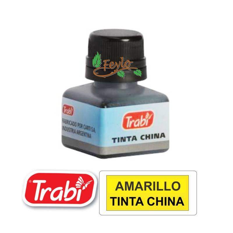 Tinta China Trabi X 15cc Amarillo