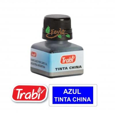 Tinta China Trabi X 15cc Azul