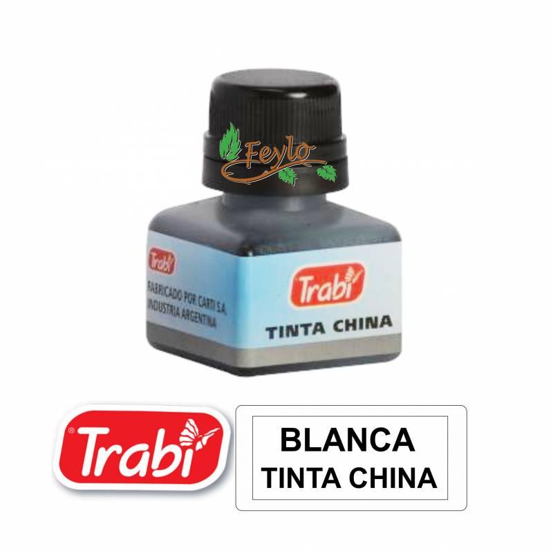 Tinta China Trabi X 15cc Blanca