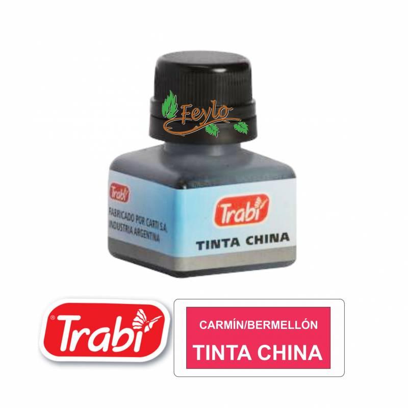 Tinta China Trabi X 15cc Carmin/bermellon