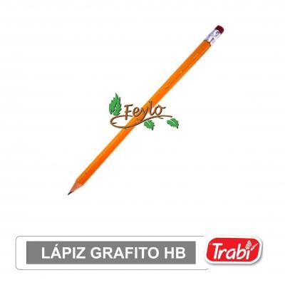 Lapiz Grafito Hb Con Goma