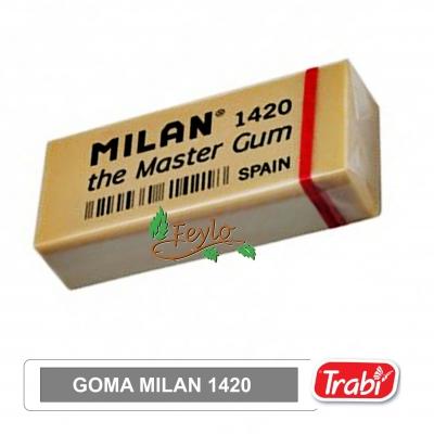 Goma Bellas Artes (grafito) Sintetica Milan 1420