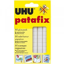 Uhu Pata Fix Invisible  (80 Cuadrados)