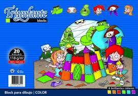 Block Dibujo Triunfante Nº6 X 20 Hjs Color