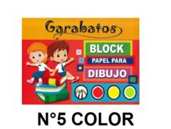 Block Garabato N5 Color X 24 Hojas