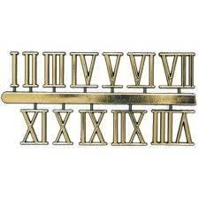 Numeros Para Reloj Grande   (arabigo ó Romanos)