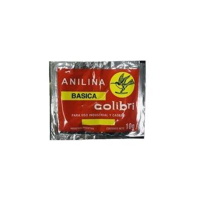 Anilina Basica Colibri (al Alcohol) X Sobre De 10 Gs.