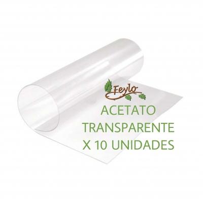 Promo Acetato Transparente (50x60) 100mc. X 10 Unidades