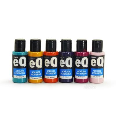 Promo Acrilicos Eq Arte (50cc) X 15 Unidades