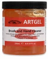 Artgel X 250 Ml. ( Brush And Hand Cleaner )