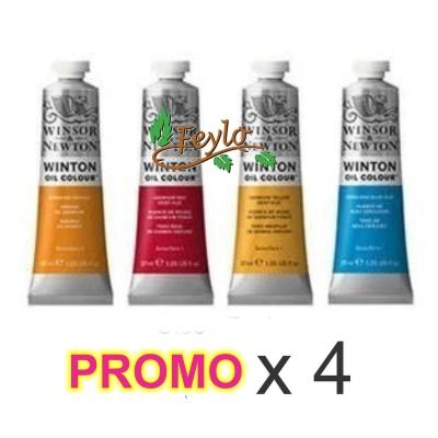 Promo Oleo Winton X 37 Ml X 4 Unidades
