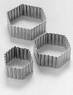 Hexagono Rizado Conjunto X 3