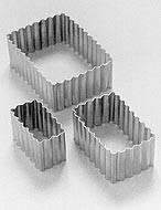 Rectangular Rizado Conjunto X 3